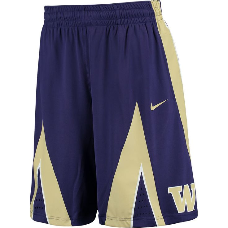 Washington Huskies Nike On Court Basketball Shorts - Purple