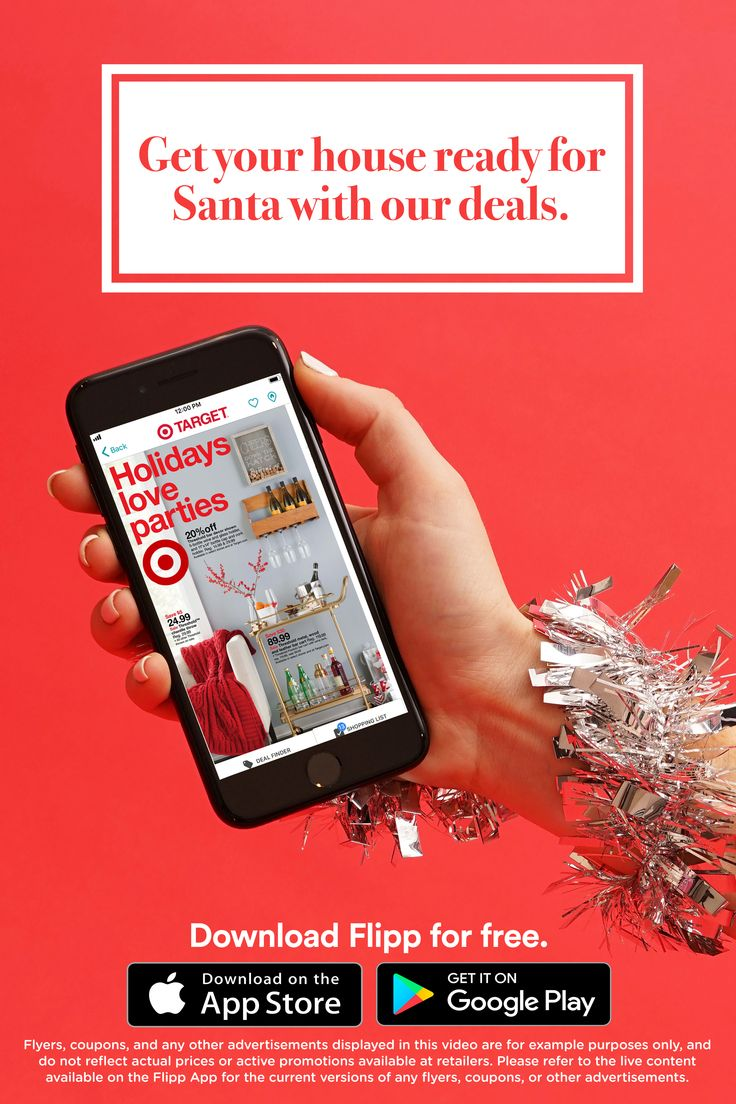 All of your favorite holiday home improvement deals in one place: the Flipp app. Browsing decoration has never been easier. Browsing home & garden deals, clip coupons, create a shopping list and saving money during the holiday home improvement season. Download for free.