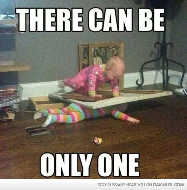 hahaha if I had twins this would be them!