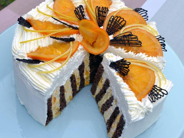 Pomarančová torta