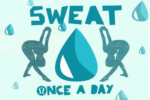 sweat.
