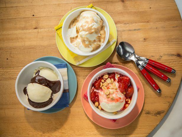 Transform your dessert game with these sweet-tooth-satisfying sundae toppings from Food Network.