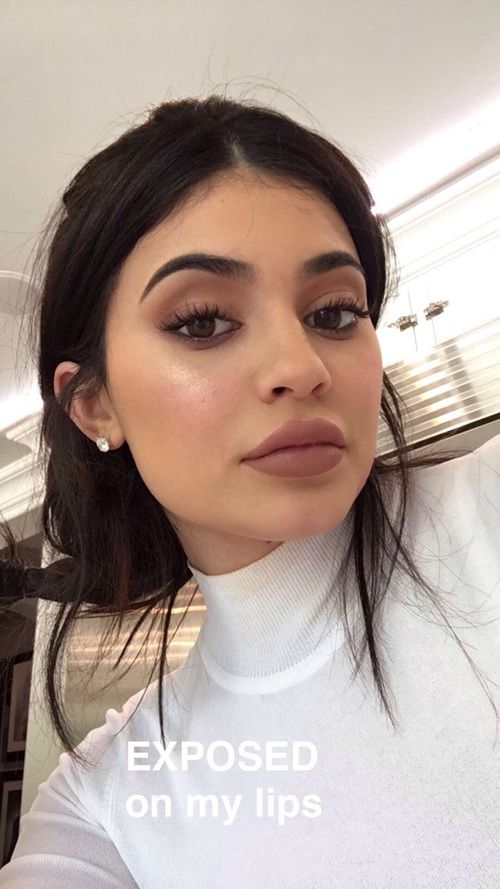 Imagen de kylie jenner, make up, and jenner
