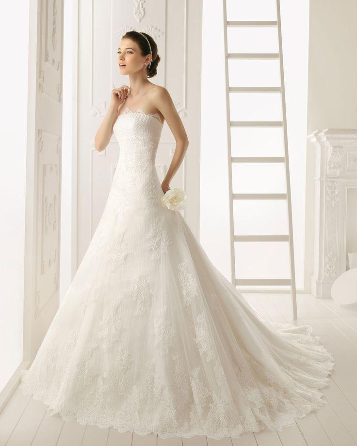 12811173636.jpg 1,536×1,920 pixels: Dresses Wedding, Dresses Lace, Weddingdress, Wedding Dressses, Lace Wedding Dresses, Gowns Dresses, Strapless Lace, Air Barcelona, Lace Dresses