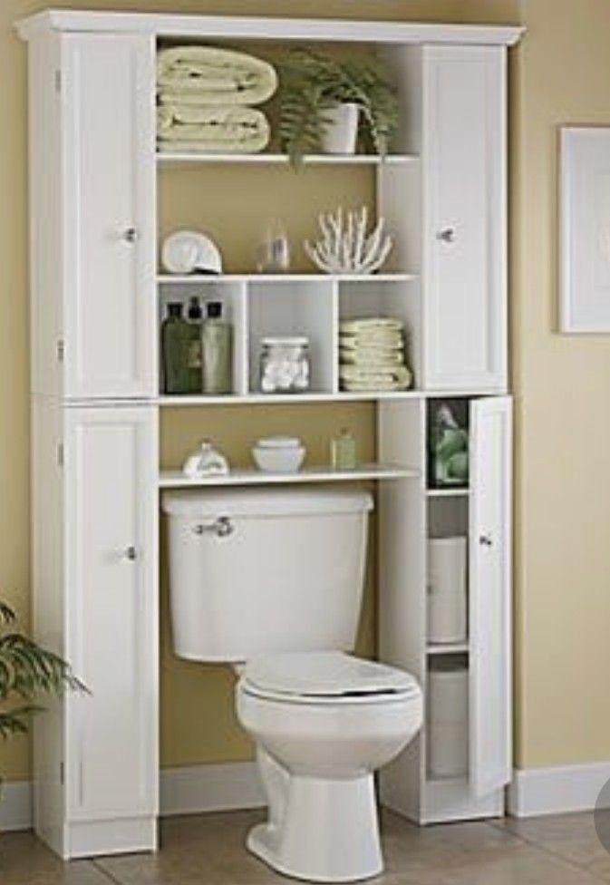 Pin By Stacy Stokdyk On Ideas Cuarto De Bano Diy Bathroom Storage Small Bathroom Storage Bathroom Storage Organization
