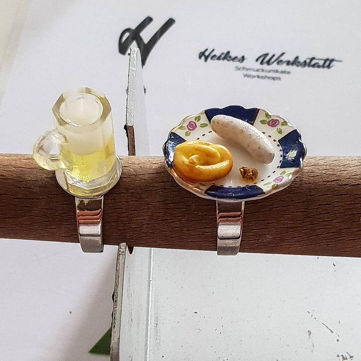 DIY-Tipp 💍💍 Ringe für alle Gelegenheiten – wie zum Beispiel das Oktoberfe… – jewellery