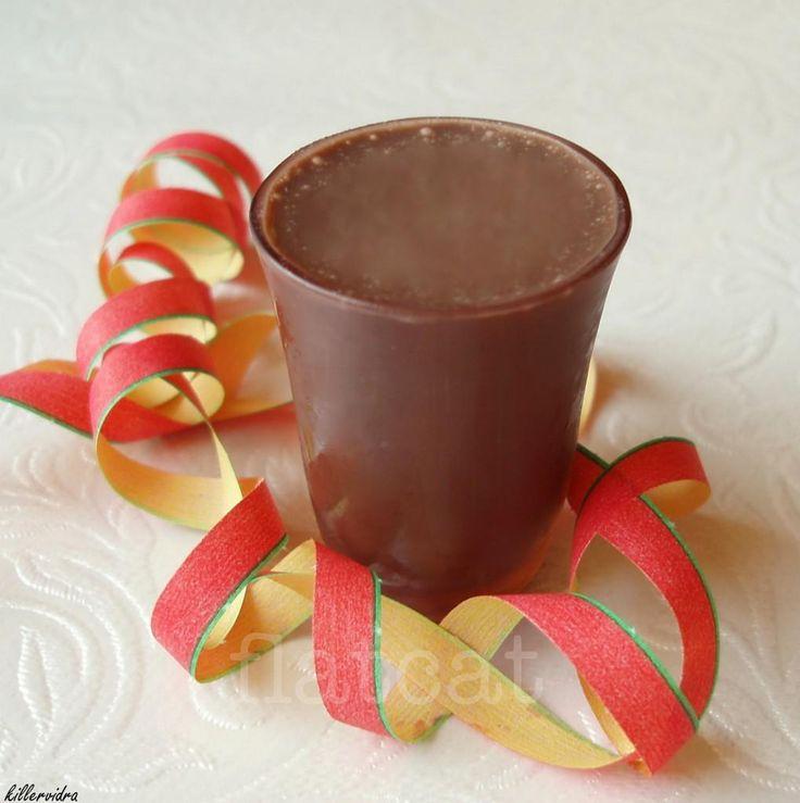 Mentás csoki krémlikőr