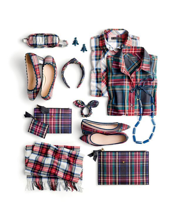 Picks from J.Crew Present-Topia. Plaid! An instant cure for the bah humbugs.
