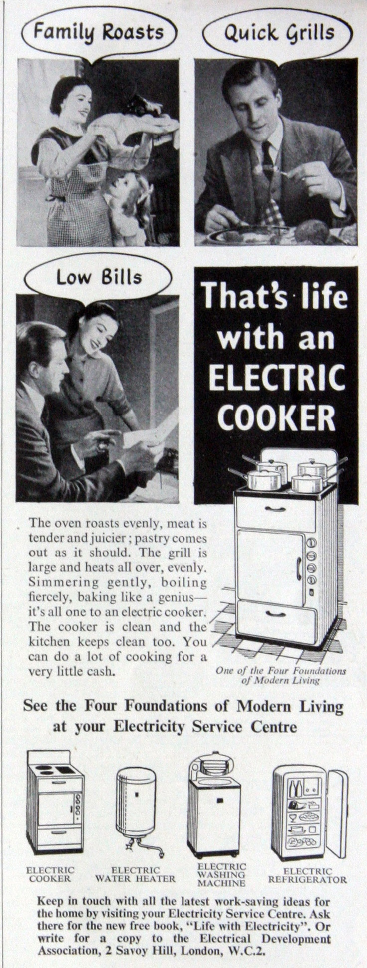 42 Best Electric Ads Images On Pinterest