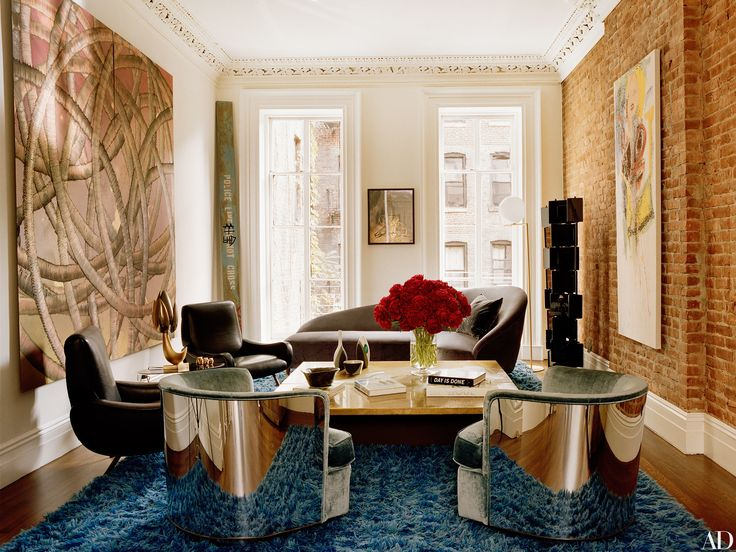 Tour Laure Heriard Dubreuil And Aaron Youngu0027s New York City Townhouse