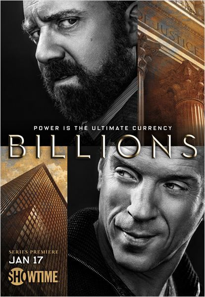 Billions..loved the first series..not enjoying the second one as much but only on episode 5..still won't miss it though