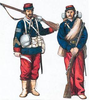 Soldados Guerra del Pacífico ( 1879 )