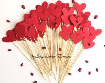 50 harten voor gangpad decor / gangpad decor / strand bruiloft /Garden bruiloft /Party decoratie