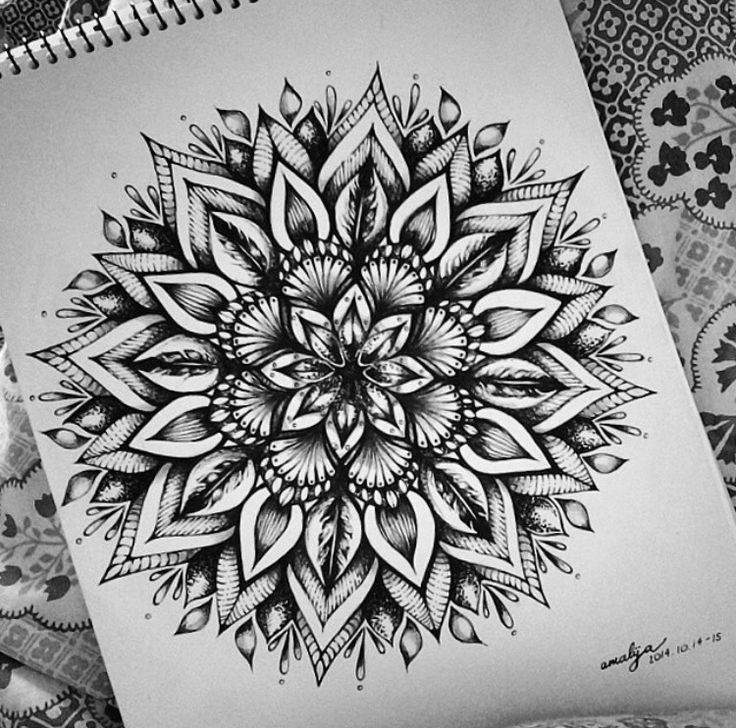 Mandala Tattoo Design On Pinterest: 25+ Best Ideas About Geometric Mandala On Pinterest