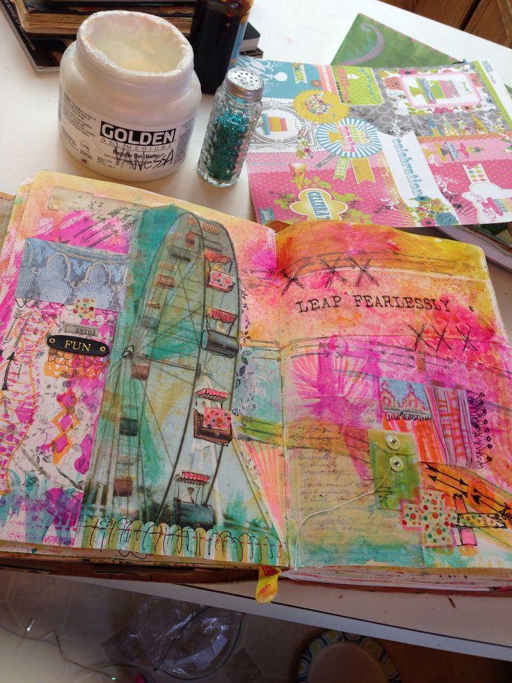 Vanessa Johanning ArtwingsStudio.com Journal your Gypsy life!