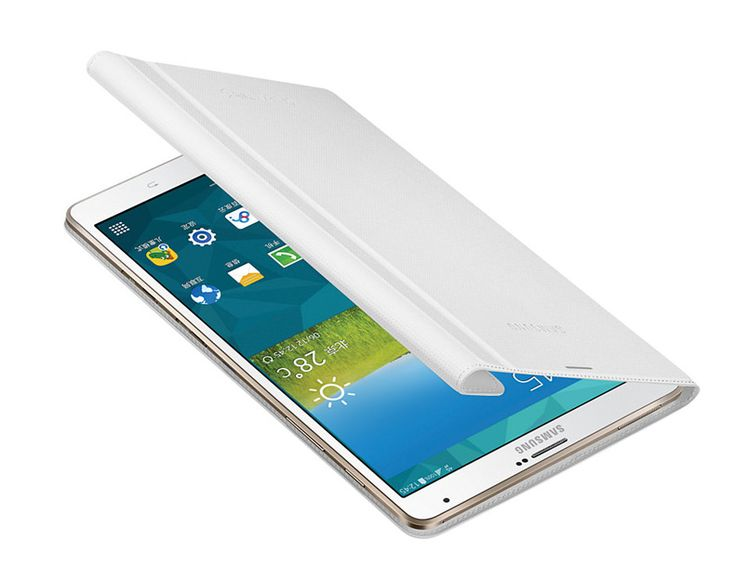 Samsung tablet Book cover in white for Alex