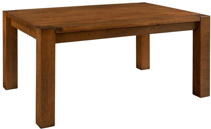 Kings Canyon Solid-Top Dining Table by Keystone Experience the difference of Keystone Furniture with this rustic design.