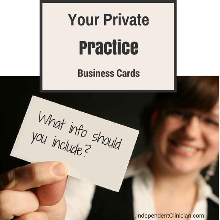 Private Practice Business Planning