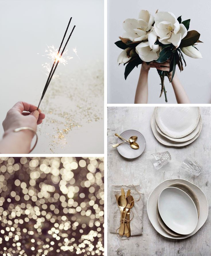 NEW YEARS TABLE INSPIRATION by Elisabeth Heier