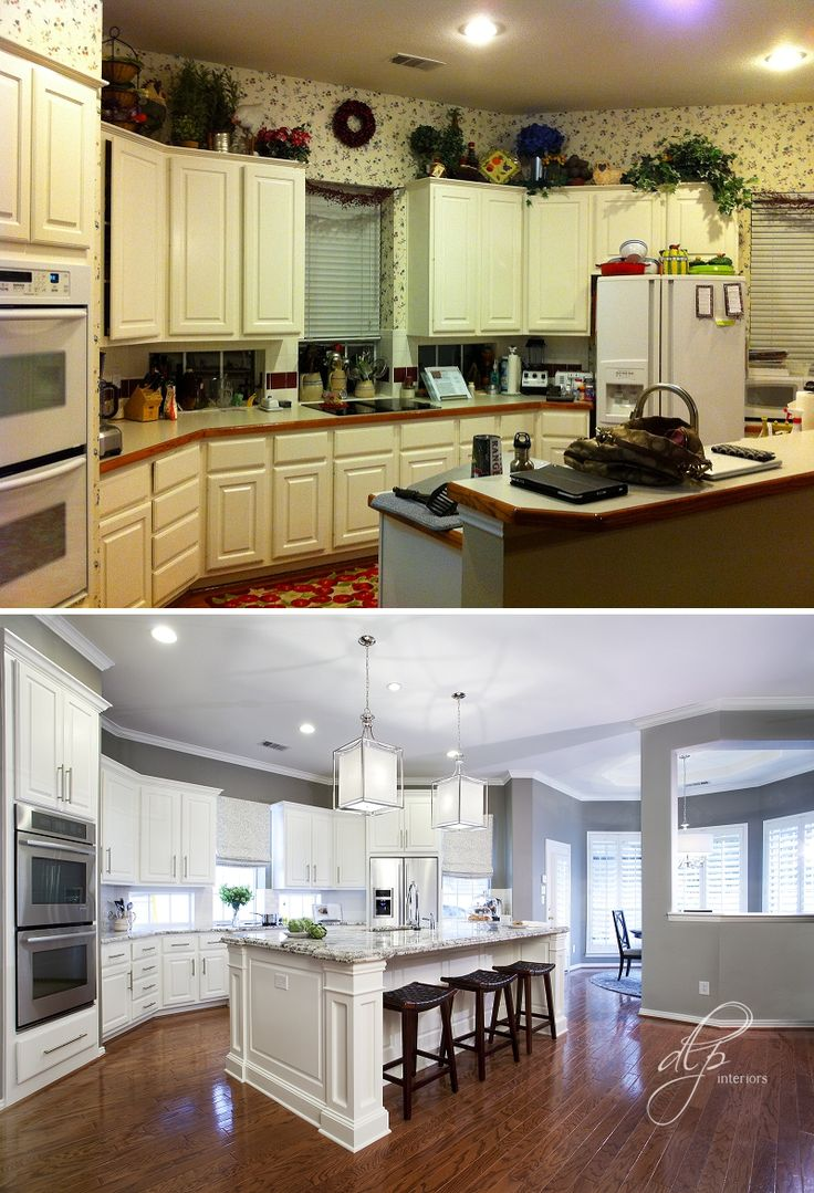 Transitional Kitchen Remodel | Dallas, TX | DLP Interoirs