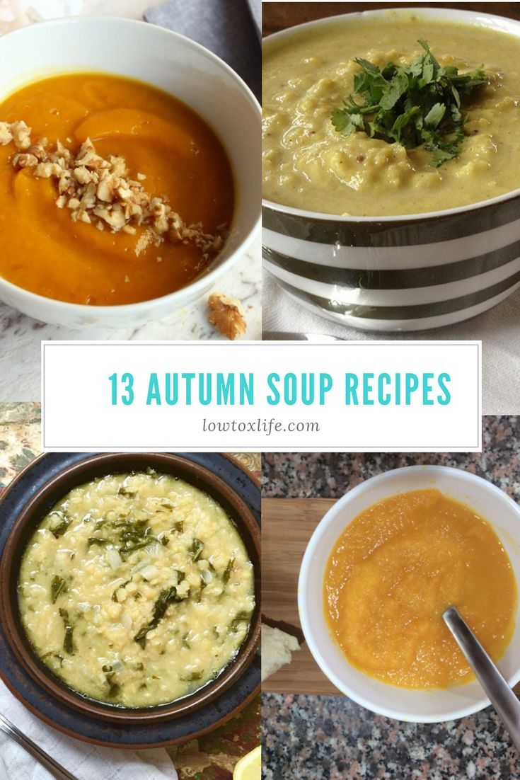 Can you feel that slight chill in the air first thing in the morning? That's autumn coming! I just love autumn. I adore soup - the ease of it; the freezing of portions for lazy…