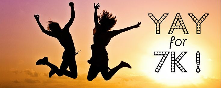 We've recently hit 7000 'Likes' on Facebook, and we're jumping for joy! To say thank you, we'll be having seven days of giveaways starting…
