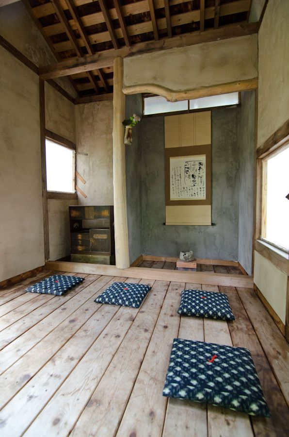 Imagining the interior of our Tea House; a work still in progress