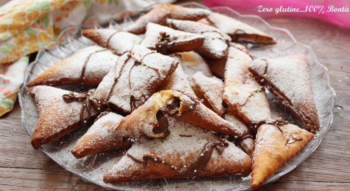Ravioli dolci allarancia ripieni di Nutella