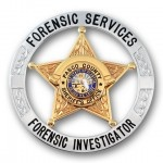 5 Star Circle Pasco County Sheriff's Office Forensic Services Badge