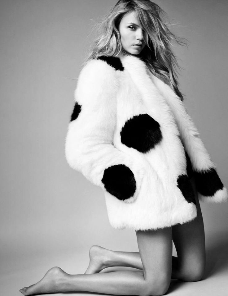 Natasha Poly photographed by Mario Testino for Vogue Paris October 2014