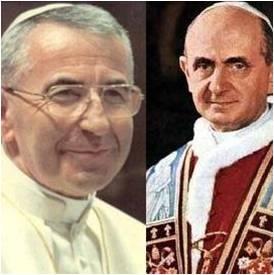 Juan Pablo I y Pablo VI podrían subir a los altares durante Año de la Fe