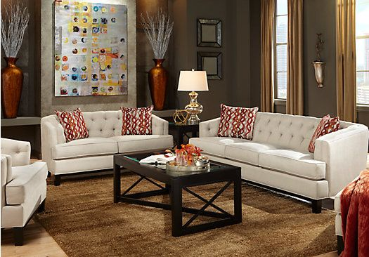 Picture Of Chicago Hemp 5Pc Classic Living Room From Living Room Sets  Furniture | Home Decor That I Love | Pinterest | Room Set, Living Room Sets  And Living ...