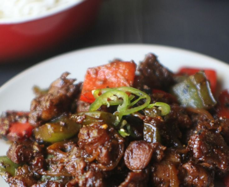 This lamb stirfry from Faazia of Modest Munchies is sure to be a crowd pleaser at your Ramadan table.