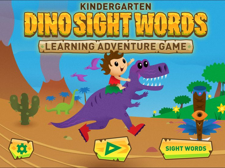 Dino Sight Words - Tipitap