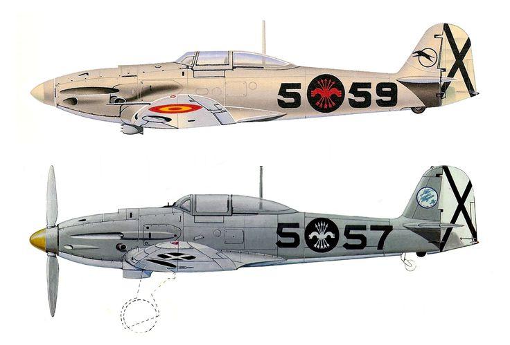 Resultado de imagen de spanish civil war airplanes