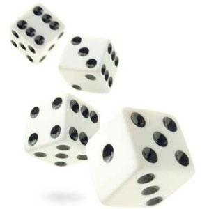 DOBBELSTENENSPEL  Versie 1: Wiskunde - Op 2 dobbelstenen staan getallen en op een derde staan je bewerkingen (x,:,-,+) 2)  Versie 2: Taal - op 1 dobbelsteen staat de persoon (ik, jij, hij...) op een andere een werkwoord, ze moeten de werkwoorden dan juist vervoegen. Je kan nog een dobbelsteen bijvoegen met de tijden op.