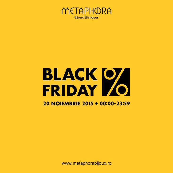 Fetelor, vi se pregătește ceva ;)  #metaphora #blackfriday #reduceri