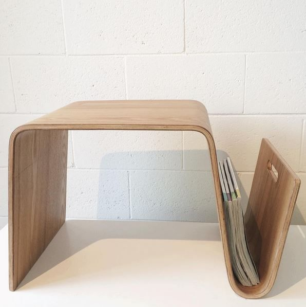 Replica Eric Pfeiffer Offi Mag Table (Available in oak, walnut and black)