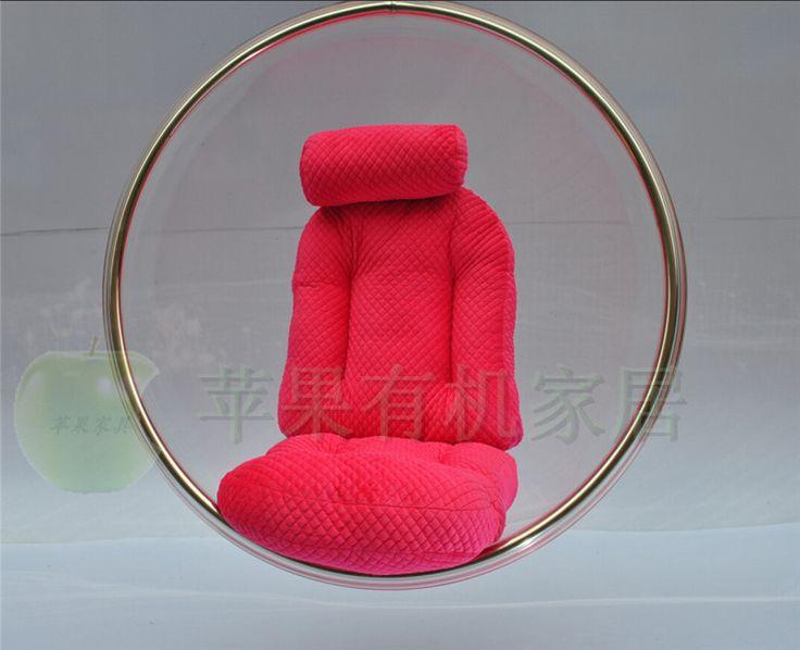 Специальный творческий пузырь стул Bubble Chair Болл Председатель персонализированные прозрачный акриловый стул кресло-качалку висит кресло ...