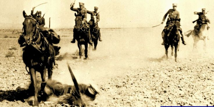 Greek cavalry Minor Asia 1921