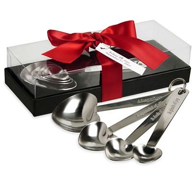 Heart Measuring Spoons With Gift Box: HansonEllis.com