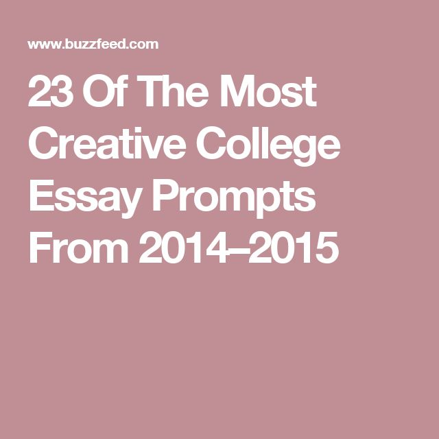 College of charleston essay questions 2014