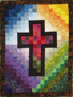 Watercolor Cross - kits now available!