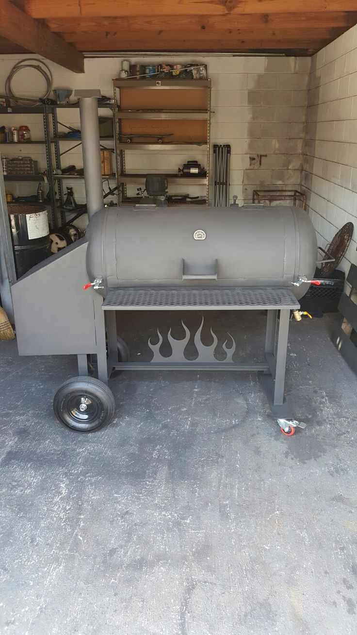 60 gallon reverse flow smoker for sale