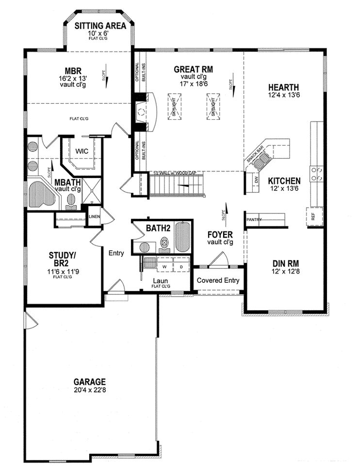 Cape cod coastal cottage country ranch house plan 94184 for Cape cod floor plans