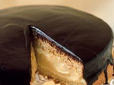 Boston Cream Cake. My favorite donut as a cake? Must try this!