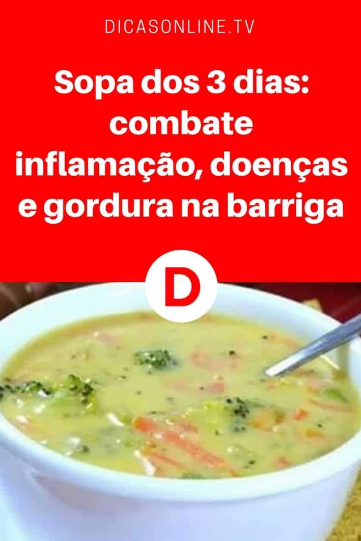 sopa de verduras para perder peso