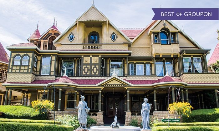Winchester Mystery House - Winchester: Mansion Tour for One at Winchester Mystery House (Up to 25% Off). Two Options Available.