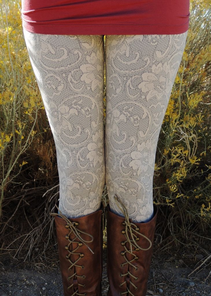 Flora Lace Leggings