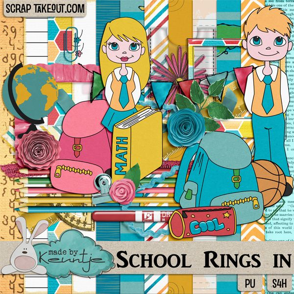 School Rings In, collab with Sus Designs http://scraptakeout.com/shoppe/-Aug-14/
